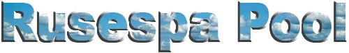 Construcción de piscinas Rusespa Logo